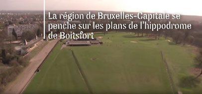 Foto Regio Brussel bestudeerd plannen voor renbaan Bosvoorde Frans